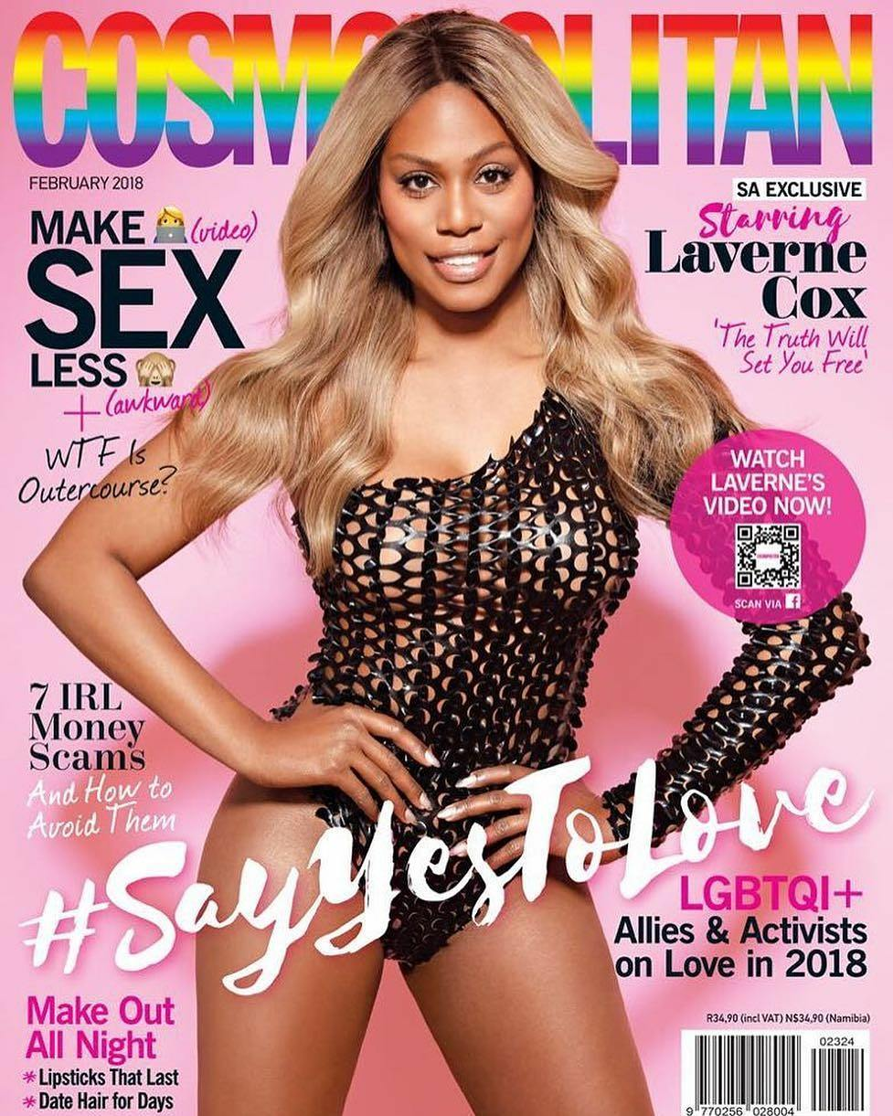 February 2018 Cosmopolitan: A Mini Bible of Sexual & Gender Diversity